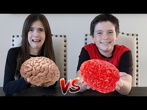 GUMMY FOOD vs REAL FOOD!!