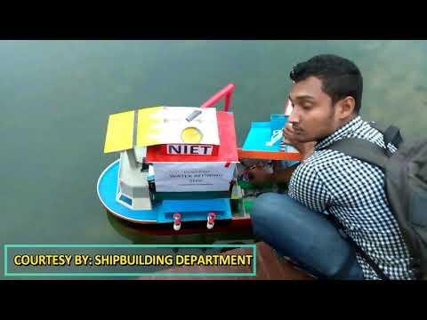 SHIPBUILDING PROJECT WATER REFINE SHIP