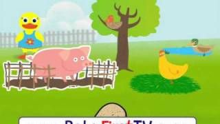 Vocabulary Farm Animals 2 At Babyfirsttv.com