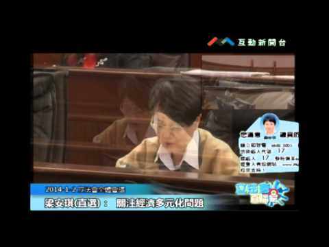 梁安琪20140102立法會議