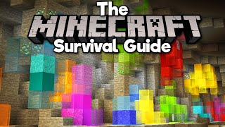 Building with Diamond Ore Blocks! • The Minecraft Survival Guide (Tutorial Let's Play) [Part 298]