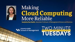 YouTube video highlighting School of Management faculty research on cloud computing.