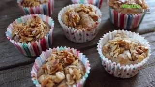 Pear Crumble Mini Muffins - Healthy Treats by UltraCore