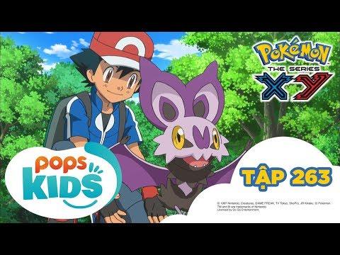 Pokémon Tập 263 - Gió, Trứng và Onbatto - Hoạt Hình Tiếng Việt Pokémon S18 XY - Thời lượng: 21:39.