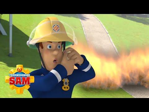 Feuerwehrmann Sam | Hügelbrand im Pontypandy Park | Rettungsaktionen im Freien | Cartoons für Kinder