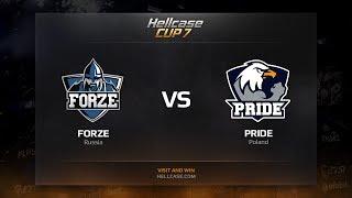 PRIDE vs forZe, HellCase Cup Season 7
