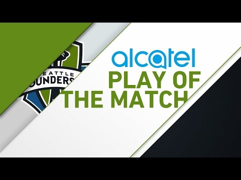 Video: Alcatel Play of the Match: Nicolas Lodeiro serves up a perfect ball for Clint Dempsey