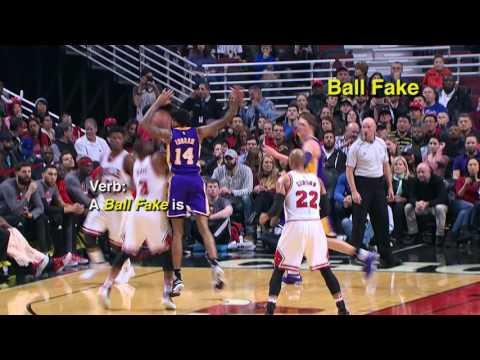 DWYANE WADE ON BALL FAKE