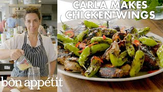 Carla Makes Grilled Chicken Wings With Shishito Peppers  From The Test Kitchen  Bon Appétit