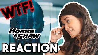 HOBBS AND SHAW TRAILER REACTION