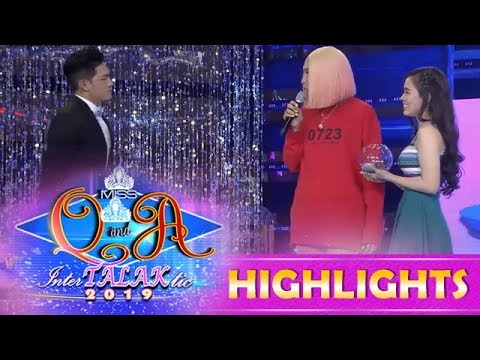 It's Showtime Miss Q & A: Ion laughs when Vice and Jackque fight about him