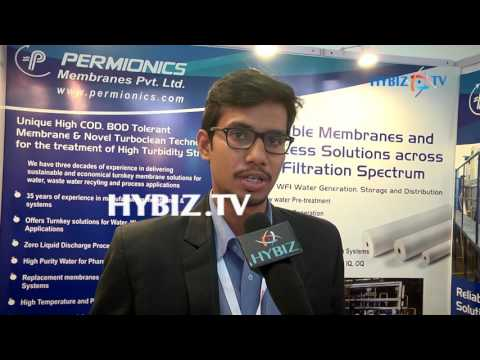 , Thalla Rohit, PERMIONICS Membranes-IPHEX 2017