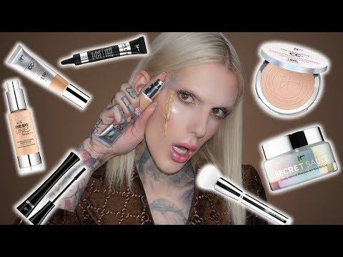 FULL FACE USING ONLY IT COSMETICS PRODUCTS! | Jeffree Star