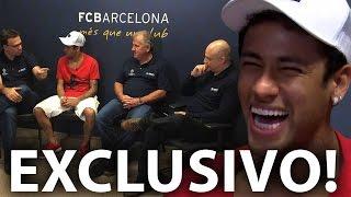 Neymar como você nunca viu - ENTREVISTA EXCLUSIVA COMPLETA