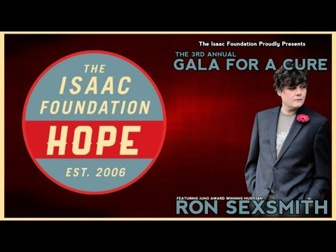 Ron Sexsmith - Brandy Alexander - The Isaac Foundation's GALA FOR A CURE!