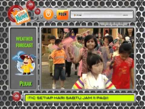 TV3 Kids News - Sri Garden KL 1Malaysia Celebration