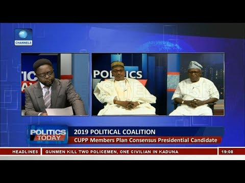 CUPP Members Plan Consensus Presidential Candidate Pt.1 |Politics Today|