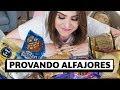 Qual o MELHOR ALFAJOR da Argentina?? Provando alfajores! | Lu Ferreira