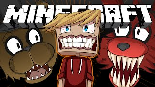 FIVE NIGHTS AT FREDDY'S 2 MOD   Minecraft (Jumpscares, Foxy&GOLDEN FREDDY?) Multiplayer