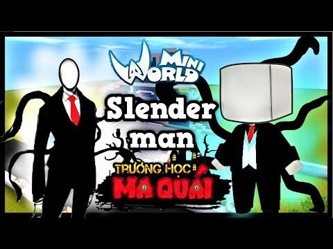 TRƯỜNG HỌC MA QUÁI: -tập 5- 1 ngày làm slenderman   Thử thách bắt cóc trẻ em hư hỏng   Phong Cận Tv - Thời lượng: 16 phút.