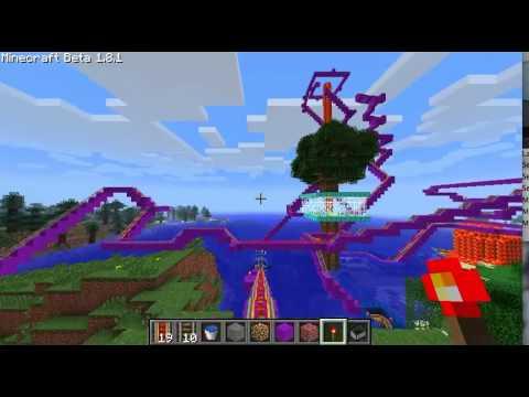 [Old Version] Minecraft Roller Coaster!