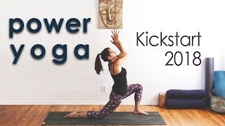 Video Power Yoga Flow ~ Wring Out the Old, Ring in the New MP3, 3GP, MP4, WEBM, AVI, FLV Maret 2018
