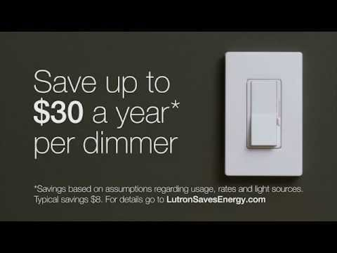 Lutron Eco-Dim: Television Commercial