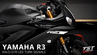 4. How to install Halo-GTR Signals on a 2019 Yamaha R3 by TST Industries