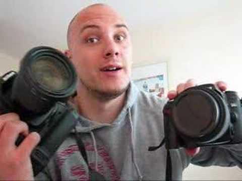 Nikon D300 DSLR Video review (www.dombower.com) (nikon 18-200mm vr lens)