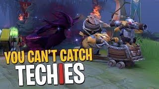 You Can't Catch Techies - DotA 2 Funny Moments + Arcana Giveaway