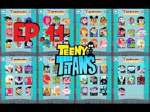 Teeny Titans - A Teen Titans Go! - Show All Character/Figure - Clear All - Complete Finish - Wiki