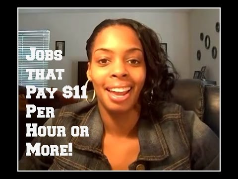 Work from Home Jobs Paying $11 Per Hour and More!
