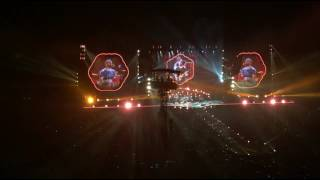 Rajamangala National Stadium Bangkok, Thailand April 7, 2017 I wouldn't record the whole concert but surprisingly ended up ...