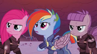 Video The War Between Celestia And King Sombra - My Little Pony: Friendship Is Magic - Season 5 MP3, 3GP, MP4, WEBM, AVI, FLV Agustus 2018