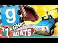 GMod Boats #1 - Cart Vs. Pickup (Garry's Mod)