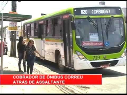 [RONDA GERAL] Homem assalta ônibus no Parque 13 de Maio
