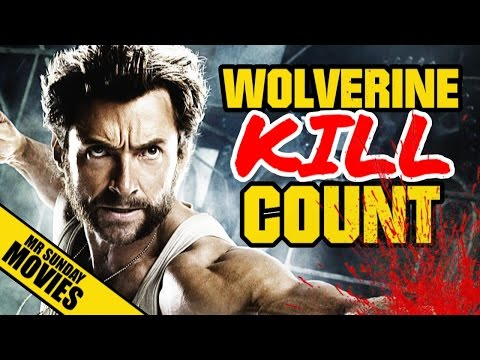 Wolverine Movie Kill Count
