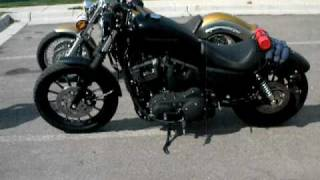 10. Harley Davidson Iron 883 & Yamaha V Star 1100