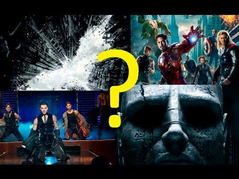 2012 Most Searched Movies