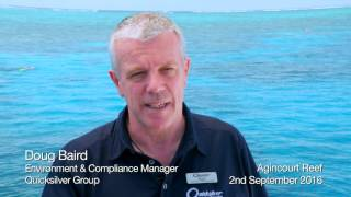 We caught up with Quicksilver Group's Environment & Compliance Manager, and Marine Biologist, Doug Baird, as he takes us on an underwater tour at the pristine Agincourt Reef.