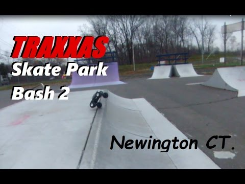 TRAXXAS Skate Park Bashing 2: Newington CT.