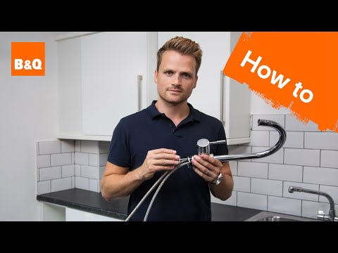 How to replace a kitchen tap part 1: preparing your new tap