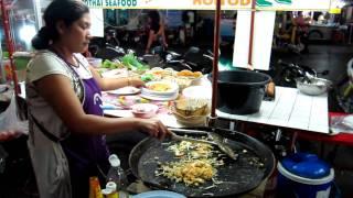Cooking Pad Thai Seafood 4 Min (Original Recipe) [HD]