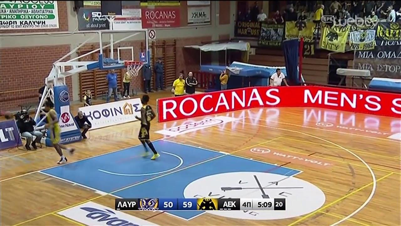 Basket League 2019-2020: ΛΑΥΡΙΟ – ΑΕΚ | HIGHLIGHTS | 23/11/2019 | ΕΡΤ