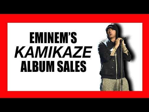 Eminem's Surprising 'Kamikaze' Album Sales