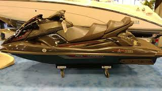 4. 2018 RED YAMAHA FX CRUISER SVHO WAVERUNNER PERSONAL WATER CRAFT