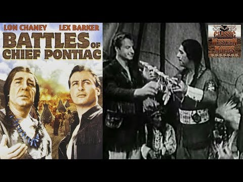 Battles Of Chief Pontiac | 1952 Western | Lex Barker