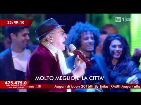 RAI 1 Capodanno 2016\2017  - La classe degli Asini Bongo Bongo Maria Marì Renzo Arbore