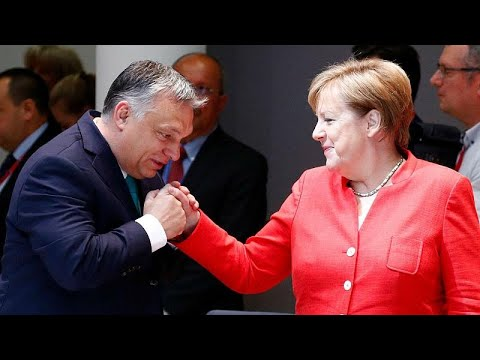 Merkel zu Orbán: