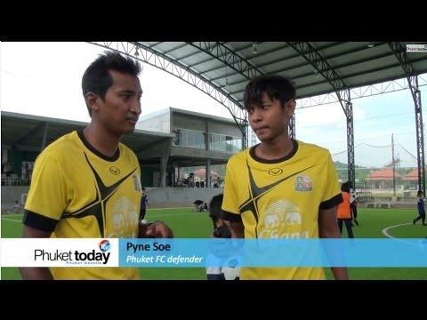 Good Shepherd kids train with Phuket FC stars